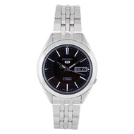 Seiko Men s SNKL23 Stainless Steel Analog with Black Dial Watch