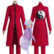 Anime Tokyo Revengers Kurokawa Izana Cosplay Costume Red Uniform Cloak Top Pants Halloween Carnival Role Play Men Women