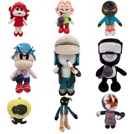 Friday Night Funkin Plush Doll FNF Girlfriend Captain Pico Whitty Stuffed Toys Gifts