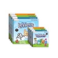 【玩具倉庫】【美國PreSchool Prep Company】幼兒美語學習翻翻書+厚紙書共8本(整套八本)