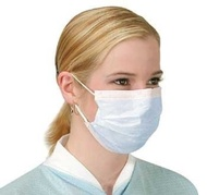 12 x Anti Virus Flu Surgical Face Masks with earloops