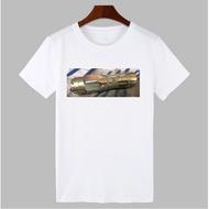 限量白金軍刀機械桿造型T恤
