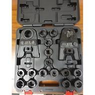 【泵浦五金】OPT 六角/C型模 端子壓接模具 壓著電纜用壓接頭~油壓式 六角 22mm~325mm+電纜剪刀模具
