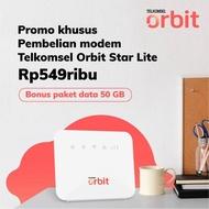 Telkomsel Orbit Star Lite Modem Wifi 4g High Speed Bonus Data 50gb