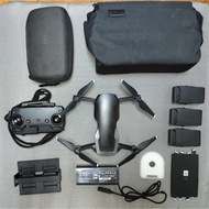 DJI 大彊 空拍機 MAVIC AIR 全能套裝 三電池 車充 二手