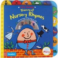 英文原版兒童童謠繪本 Lucy Cousins Treasury of Nursery Rhymes 吳敏蘭韻文歌謠寶庫