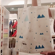 MINISO we bare bears shopping BAG