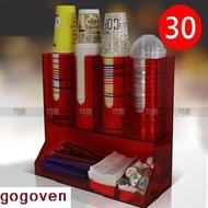 gogoven (四)  紙杯架 飲料杯架 飲料店 咖啡杯架 杯架 吧檯收納架 紙杯 吸管盒 咖啡吧檯 咖啡用具收納架