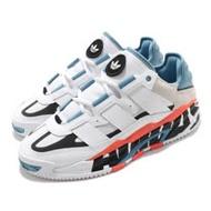 adidas 休閒鞋 Niteball 流行 男鞋 愛迪達 三葉草 麂皮 異材質 穿搭 白 藍 FX7644 FX7644