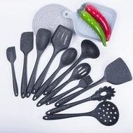【庭軒現貨】熱銷噴點矽膠廚具套裝廚房用品防燙耐高溫不粘鍋鏟漏勺11件套