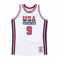 M&N Authentic球員版復古球衣 92 Dream Team #9 Michael Jordan
