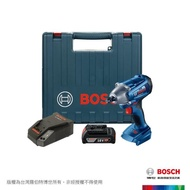 【BOSCH 博世】18V 鋰電衝擊扳手機套裝組_2.0Ah(GDS 250-LI)
