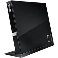 ASUS 6x USB20 external Blu-ray drive burner black compatible with Apple Systems  SBW-06D2X-U