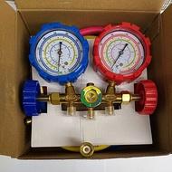 Manifold gauge starmec Or testing manifold multi plus Connector R410 / R32