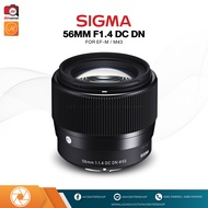 Sigma Lens 56 mm. F1.4 DC DN [รับประกัน 1 ปี By AVcentershop]