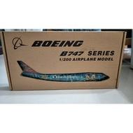塑膠飛機模型 JAL B747迪士尼彩繪1:200