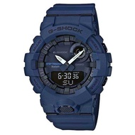 【CASIO】G-SHOCK 活力充沛計步藍芽雙顯錶-深藍(GBA-800-2A)正版宏崑公司貨