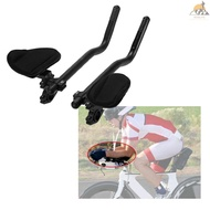 READY STOCK Bike Rest Handlebar Cycling Aero Bar Bicycle Relaxation Handle Bar Triathlon MTB Road Bike Arm Rest Bar Bike Aerobar