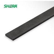 Shera ไม้รั้วเฌอร่า รุ่นโมเดิร์น ลายเสี้ยน สีโอ๊ค ชายน์ไลท์ 1.2x100x300 โอ๊คชายน์ไลท์