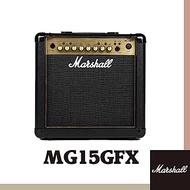 Marshall MG15GFX 電吉他音箱 / 贈導線 / 公司貨保固