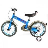 ★衛立兒生活館★英國Mini Cooper 兒童腳踏車16吋-激光藍