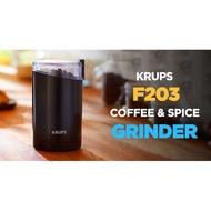 德國 Krups F203磨豆機 咖啡研磨機 研磨機  3盎司 現貨