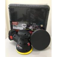 (小小五金)Techway鐵克威 充電式無線電動打蠟機 可調速 14.4V-雙鋰電池 充電打臘機 掌上型打蠟機