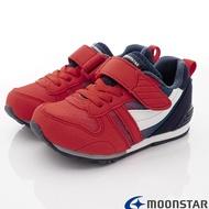 日本月星Moonstar機能童鞋HI系列寬楦頂級學步鞋款2121G2紅(中小童段)