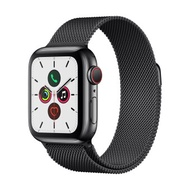 Apple Watch Series 5 GPSCellular 40mm, Space Black Stainless Steel Case, Space Black Milanese Loop Band