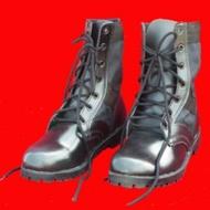 รองเท้าคอมแบท จังเกิ้ล รองเท้าทหาร รองเท้า รด. สีดำ Combat jungle Black