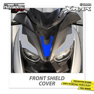 Hayaidesu Front Shield Cover Yamaha Xmax Accessories Decal Variations Carbon Shield Xmax