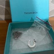 Tiffany & co幸運馬蹄純銀925項鍊正品