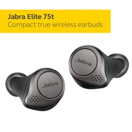 Jabra Elite 75t Earbuds â True Wireless Earbuds with Charging Case, Titanium Black â Bluetooth Earbuds with a More Comfortable, Secure Fit, Long Battery Life and Great Sound Quality