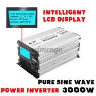 NEIMENGO 1500W / 3000W峰值LED純正弦波電源逆變器DC 12V至110V 120V AC