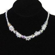 特價氣質公主款水晶項鏈女磁吸扣短款鎖骨鏈飾品