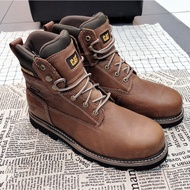 CAT IDAHO ST WP 工作鞋 鋼頭鞋 安全鞋 咖啡NO.90981