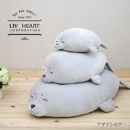 【完整售服】日本療癒大牌 官方正版進囗 LIV HEART 海豹 彈力超柔抱枕