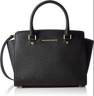 Michael Kors Black Selma Handbag