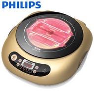 PHILIPS 飛利浦黑晶爐不挑鍋 HD4990 / HD-4990(香檳金色)