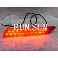 ●○RUN SUN 車燈,車材○● 全新 MITSUBISHI 三菱 GRUNDER 雙功能LED 後保燈 後保桿燈