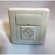 Hager Wired Battery Operated Melody Door Chime suitable for BTo HDB and Condo (Door Bell Chime)