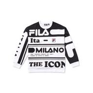 {限量} FILA #米蘭SNBN系列 長袖T恤 2020米蘭時裝週SNBN系列 滿版 米蘭 限量發行 運動時尚