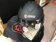 MSI ZEUS 微星 安全帽 龍魂戰盔 XL號  全新未使用 限量