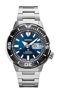 ▶$1 Shop Coupon◀  Seiko Prospex Monster Stainless Steel Blue Dial