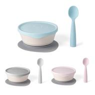 【買就送】Miniware 天然聚乳酸兒童學習餐具 新生寶寶組 (3款可選)【麗兒采家】【贈餐具收納袋】
