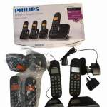 Philips BeNear Cordless Phone CD1904 , included 4 handsets
