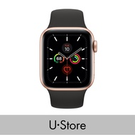 [U Store] Apple Watch Series 5 GPS Aluminium Case with Sport Band Gold Aluminium Case with Pink Sand Sport Band 40MM