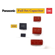 KDK/Panasonic Full Set Ceiling Fan Capacitor Package (5 Pieces)