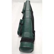 COD 1pc. Billiard Cue stick Hard Case 2x2 Green color (lagayan ng 2pcs. na tako)