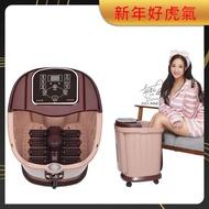 【SimLife】至尊招待所專用高桶電動腳底滾輪超強SPA按摩機(米咖啡)